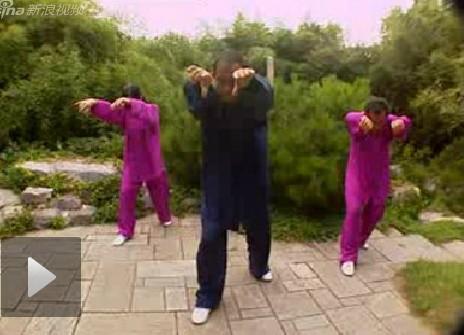 五禽戏教学视频之虎鹿熊前三戏